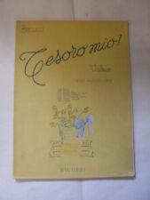 BECUCCI - TESORO MIO VALZER PER PIANOFORTE N.96788 OP.228 - ED.RICORDI - 1951