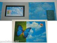 Hong Kong 2001 Stamp Exhibition S/S #5 Persentation Pack`