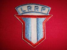 Vietnam War Beret Patch US LRRP Company E 50th Infantry Regiment