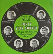 DJ Chuck Dunaway Top 40 Radio KILT Houston from 7/11/1966  Mick Jagger interview