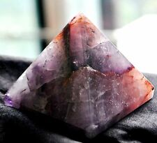 SUPER SEVEN MELODY STONE*  '' PYRAMID'' 6 CMS *** 1050 CTS # 7906