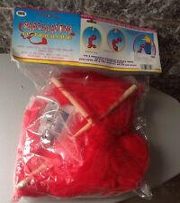 Vintage  Limber Louie Marionette String Puppet Sarchiapone Red Rosso Sealed