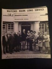 J1-6 Ephemera 1975 Picture Birkbys Viking Ltd Broadstairs G R Rowe Staff
