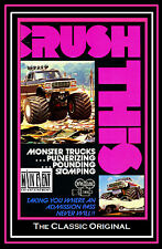 MONSTER TRUCKS, CRUSH THIS!, The Original video, a Main Event Entertainment DVD