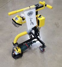 SASE Edge Grinder Polisher Concrete Surface Grinder Edge Machine W/ Dust Shroud