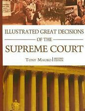 Illustrated Great Decisions Of the Supreme Court, 2nd Edition by Mauro, Anthony