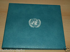 Official United Nations Commemorative Medal First Edition Proof Sterling Silver