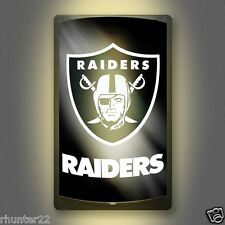 Oakland / LA Raiders NFL Licensed MotiGlow™ Light Up Sign - Free USA shipping!