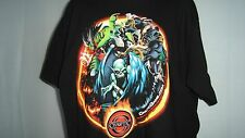 Chaotic Online Video Card Game Animated Gamer's Cartoon Men's T Shirt XL