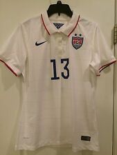 Authentic Nike USA 2014/15 Home Soccer Jersey A. Morgan- Style 578013-103 Sz: L