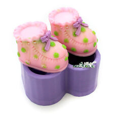 Baby Shoes Lace Silicone Soap Mold Fondant Cake Decorating Molds DIY Chocolate