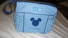 Disney Mickey Mouse Blue Baby Boy Large Shoulder Tote Diaper Bag Wickeltasche