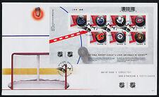 Canada 2661 on FDC NHL - Team Logos, Hockey, Sports