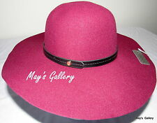 GUESS  Jeans Floppy Felt Hat Hats   logo-embossed button NWT One size Bucket
