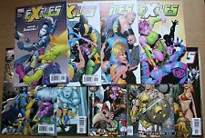 Lot of 9 Marvel Comics Exiles 1st Series Issues 49-57 1st Prints