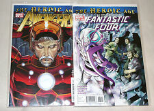 Marvel Comics - The Heroic Age '10  (2 Issues) See Info