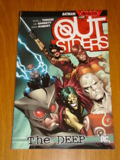 OUTSIDERS THE DEEP DC COMICS BATMAN REBORN PETER J TOMASI   9781401225025