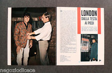 CF55 - Clipping-Ritaglio -1966- NOTIZIE MUSICA , LITTLE TONY LONDON
