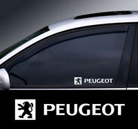 2 x Peugeot Window Decal Sticker Graphic *Colour Choice*(1)
