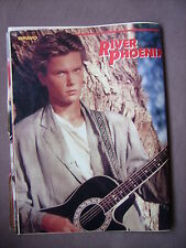 Bravo Gitarre-Poster River Phoenix (1987) 80er (Mosquito Coast, Stand by me)