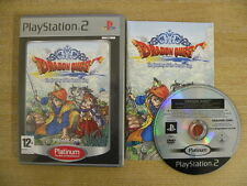 Sony Playstation 2 Game * DRAGON QUEST JOURNEY OF CURSED KING PLATINUM * PS20300