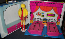 Vintage Barbie & Stacey Sleep & Keep Case w/Bonus TNT Smasheroo Reproduction