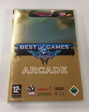 Best of Games: Arcade  (PC DVD, 2006) UK IMPORT