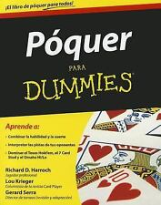 Poquer para Dummies (Spanish Edition)