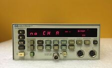 HP 438A, 100 kHz to 110 GHz, -70 to +44 dBm, 2 Ch +/-.5% Accuracy, Power Meter