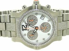 RENATO BEAUTY 1.60 CARAT PAVE DIAMOND G15.211 WOMEN'S STAINLESS LADIES WATCH