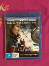 Captain America: Civil War (Team Captain America) (Blu-ray/Digital Copy)