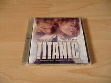 CD musique de film titanic-JAMES HORNER - 1997-CELINE DION