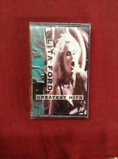 Lita Ford Greatest Hits Cassette Tape 1993 Joan Jett The Runaways Cherie Currie