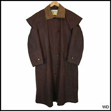 VINTAGE Barbour W.K BACKHOUSE Marrone Cappotto Giacca Xsmall 36 91cm