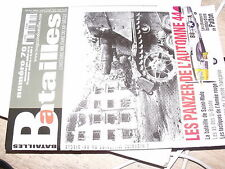 µµ Revue Batailles XXe siecle n°70 Panzer Automne 1944 Saint Malo As U-Boote
