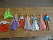 VINTAGE Barbie e Ken Bundle. © 1966. ORIGINALE vestiti. LOTTO ODL.