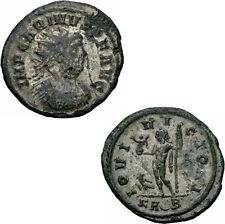 Carinus Antoninian Rom 285 IOVI VICTORI Jupiter Zepter Victoria Adler RIC 258