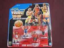 WWF Mini Wrestlers Typhoon Earthquake Natural Disasters Legion of Doom NEW WWE