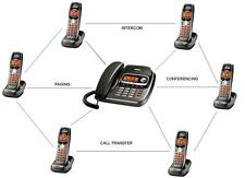 Uniden Home/Office Intercom Phone System w 6 Handsets - Intercom Paging Transfer