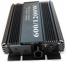 600w (1200W peak) soft start power inverter modified 600 watt 12v 220v-240v