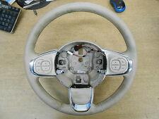 FIAT 500 312 2016 Volante in Pelle Color Crema & CONTROLLI MULTIFUNZIONE