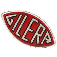 toppe  Cucisivo Gilera Old Style 55x110 mm x giacche e tute maglie abbigliamento