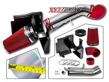 "4"" RED GMC/Chevy V8 4.8L/5.3L/6.0L Heat Shield Cold Air Intake System + Filter"