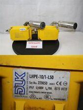 DUK  LHPE-10/1-L50  misalignment  Förderbandschieflaufschalter