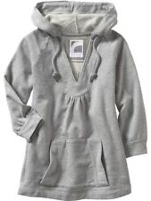 New Old Navy Grey Babydoll Sweater Hoodie L Large