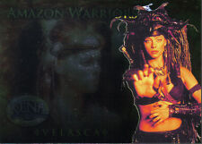 XENA BEAUTY AND BRAWN AMAZON WARRIOR CARD AW8