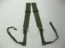 "BRITISH ARMY WW2 PARA SHOULDER STRAPS P44 'L-STRAPS"" dated 1945 ME Co."