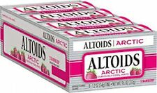Altoids Arctic 1.2oz Sugar Free Strawberry (NEW COOL FLAVOR) Tins 8 Ct - AAS236