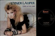 "CYNDI LAUPER Time After Time  7"" Ps, Dutch Issue, B/W I'Ll Kiss You, A 4920"