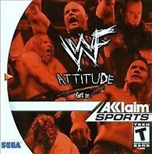 WWF WWE Attitude NEW factory sealed Sega Dreamcast